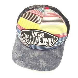 """VANS """"Off The Wall"""" Classic Patch striped trucker"""